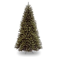 North Valley 7.5' Green Spruce Artificial Christmas Tree with Stand