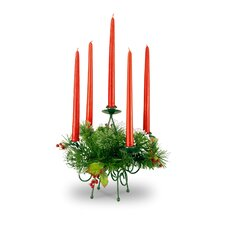 Wintry Pine Candelabra