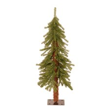 3' Green Hickory Cedar Artificial Christmas Tree