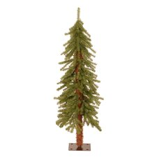 4' Green Hickory Cedar Artificial Christmas Tree