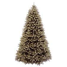 <strong>National Tree Co.</strong> Douglas Fir Downswept 7.5' Beige Artificial Christmas Tree with Stand