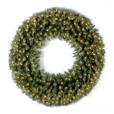 "Pre-Lit 36"" Tiffany Fir Wreath"