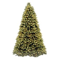 <strong>National Tree Co.</strong> Douglas Fir 9' Green Evergreen Fir Artificial Christmas Tree with 900 Pre-Lit Clear Lights with Stand