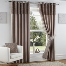 Woburn Lined Eyelet Curtains