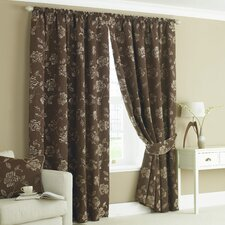 Belgravia Lined Slot Top Curtains