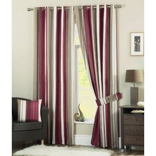 Whitworth Lined Eyelet Curtains (Set of 2)