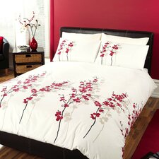 Oriental Flower Duvet Set