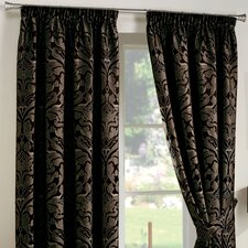 Curtina Crompton Lined Pencil Pleat Curtains
