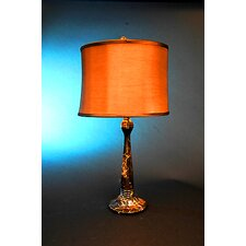"Isabelline 31"" Table Lamp with Empire Shade"