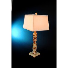 "Chartreuse 33"" H Piano Table Lamp with 3-Way Switch"