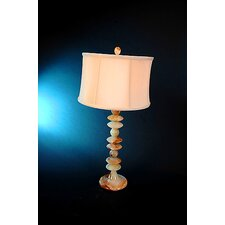 Chartreuse Table Lamp with 3-Way Switch