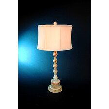 "Chartreuse 31"" H Piano Table Lamp with 3-Way Switch"