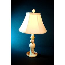 """Chartreuse 22.25"""" H Traditional Piano Table Lamp with 3-Way Switch"""