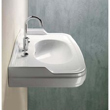 "<strong>GSI Collection</strong> Old Antea 35"" Classic-Style Curved Wall Mounted Bathroom Sink"
