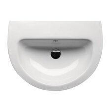 City Modern Curved Bathroom Sink