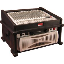 <strong>Gator Cases</strong> Slant Top Console Rack 8U Top 4U Side DJ Station