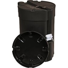 "Elite Air Series Molded PE Combo Drum Case: 12"" x 23"""