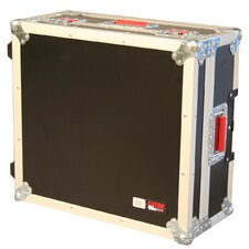 "Mixer Wood Flight Road Case: 7"" H x 21"" W x 19"" D"