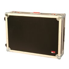 "Mixer Wood Flight Road Case: 6.5"" H x 30"" W x 20"" D"