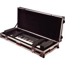 ATA 88 Note Slim Keyboard Road Case with Wheels