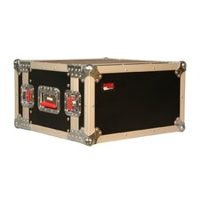 "Tour Wood Flight 14.25"" Deep Audio Road Rack Case"