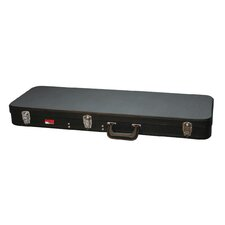 Economy Wood Electric Guitar Case in Black