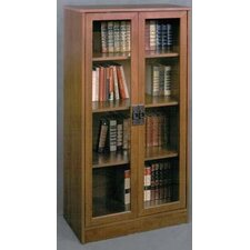 "Glass Door 53.06"" Bookcase"