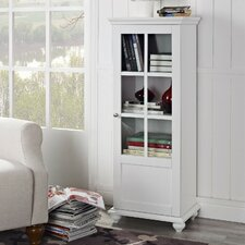 Reese Park Storage Cabinet with Glass Door