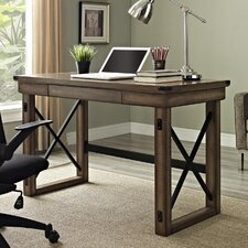 Wildwood Writing Desk with Metal Frame