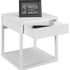 <strong>Altra Furniture</strong> Parsons End Table with Drawer