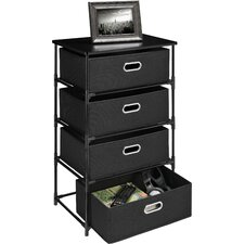 <strong>Altra Furniture</strong> 4 Drawer Storage End Table
