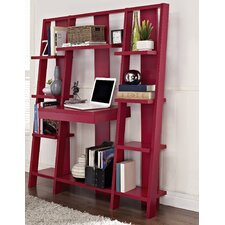 <strong>Altra Furniture</strong> Ladder Bookcase with Desk