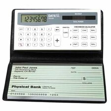 3 Memory Checkbook with Tracks Banking and Credit Balances