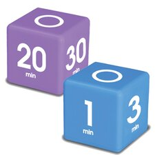 <strong>Datexx</strong> Miracle Cube Timer (Set of 2)