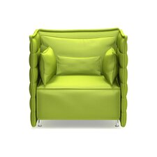 <strong>Vitra</strong> Alcove Plume Fauteuil Chair with Armrest Cushion Set
