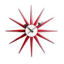 "Vitra Design Museum 18.5"" Sunburst Wall Clock"