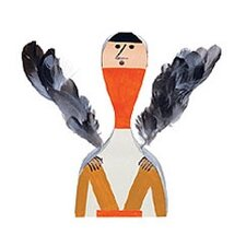 Vitra Design Museum  - Wooden Dolls no. 10 by Alexander Girard