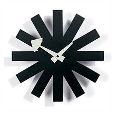 "Vitra Design Museum 9.75"" Asterisk Wall Clock"