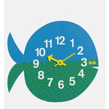 Vitra Design Museum Zoo Timers Wall Fish Clock