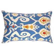 Ikat Kantha Accent Pillow
