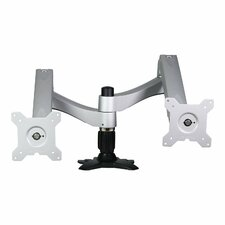 Washington Dual TV / Monitor Desk Mount Clamp / Grommet Stand