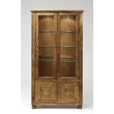 Mustique Glazed Display Cabinet