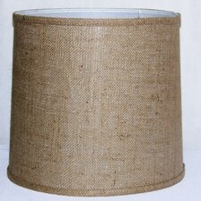 "13"" Fabric Drum Lamp Shade"
