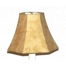 """6"""" Faux Leather Mini Chandelier Hexagon Shade (Set of 2)"""