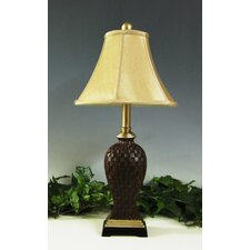 Woven Reed 1 Light Table Lamp