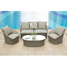 Spinner Deep Seating Group with Cushion
