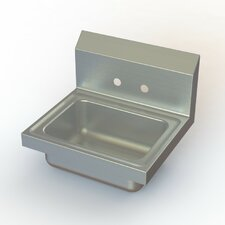 "NSF 17"" x 15"" Wall Mount Sink"