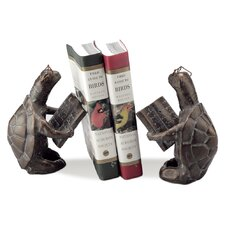 Scholarly Turtle Book Ends (Set of 2)
