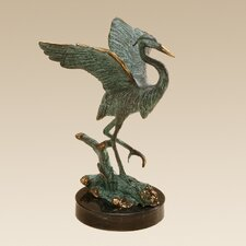 <strong>SPI Home</strong> Single Heron Figurine
