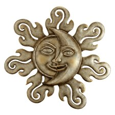<strong>SPI Home</strong> Sun and Moon Half Face Wall Décor